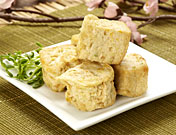 Vegan imitate meat/fish product S10 Fried Vegetable Tofu
