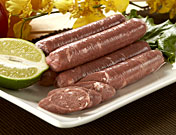 Vegan imitate meat/fish product S6 Vegan Chinese Sausage