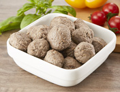 Vegan imitate meat/fish product Vagen Italian beef balls
